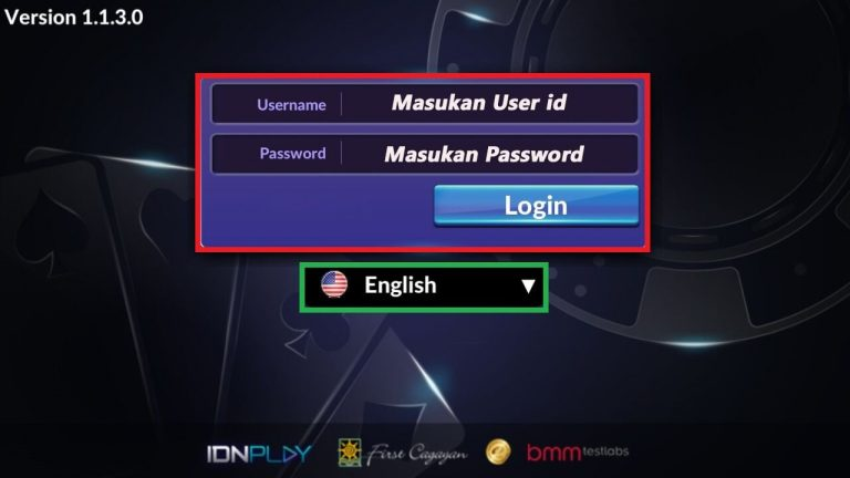 cara login super10 android