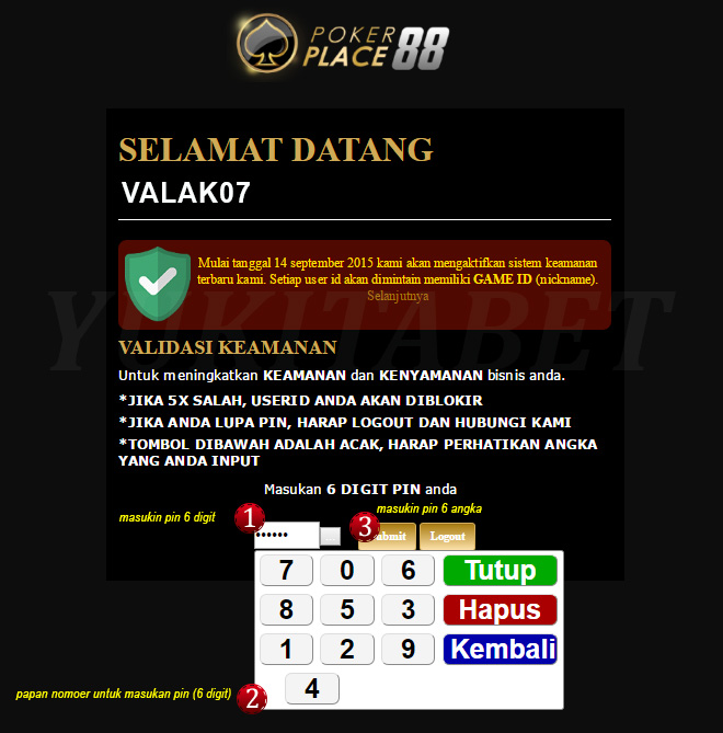 login super10 via pokerplace88 1